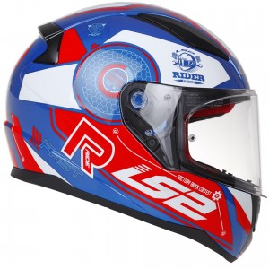 LS2 FF353 Rapid Stratus blue red white