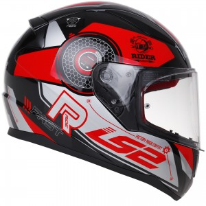LS2 FF353 Rapid Stratus black red silver